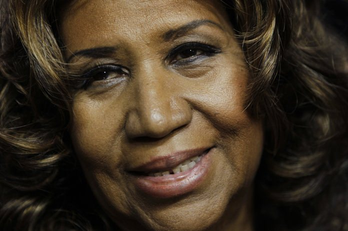 This Feb. 11, 2011 file photo shows Aretha Franklin in Auburn Hills, Mich. (AP Photo/Paul Sancya, File)