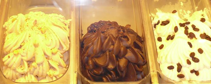 Italian ice cream of course. (Photos by Marisa Corness)