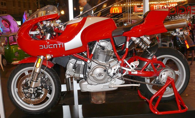 The Ducati – 1 in 2000. Not for sale.