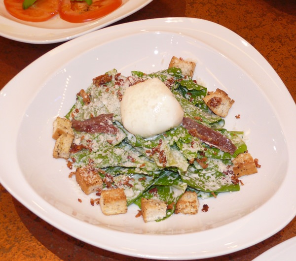 Caesar salad (best eaten on the Ides of March).
