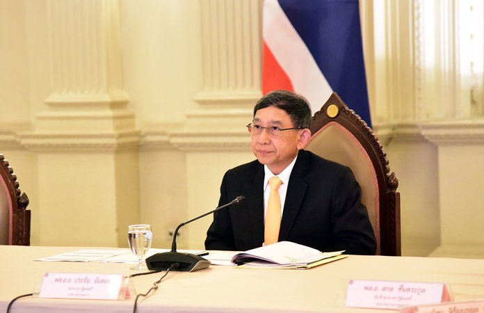 Deputy Prime Minister ACM Prajin Juntong.