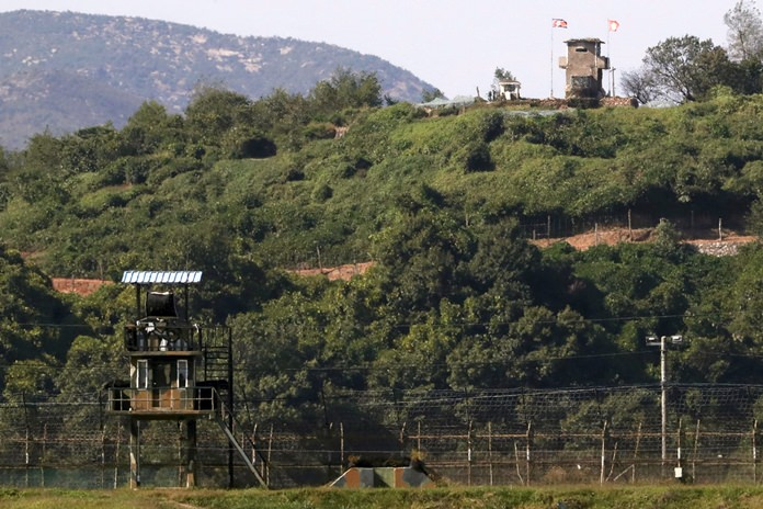 North, South Korea start land mine removal in DMZ