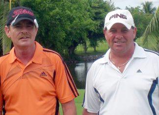 Derek Thorogood (left) and Billy Allan.