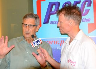 Member Ren Lexander interviews Anthony Tambini after his presentation to the PCEC. To view the video, visit: https://www.youtube.com/watch?v=DBNJEiN7C3c&feature=youtu.be.
