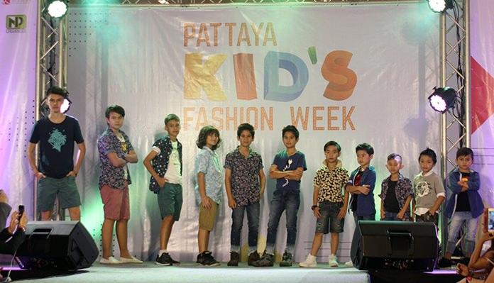DVK Star Talent Academy presented Kids Fashion Week.