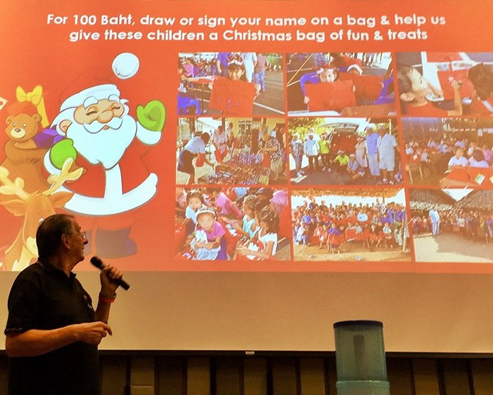 Carl Dyson explains the RC Eastern Seaboard's Christmas Bag Appeal and their goals for this year.