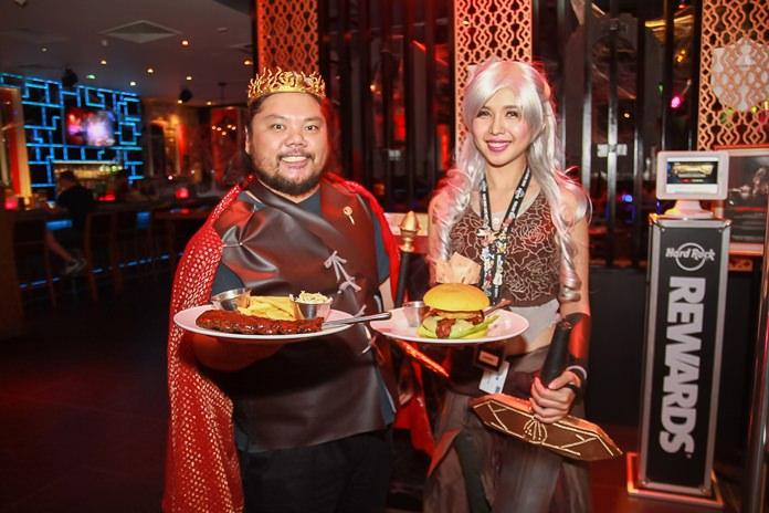 Halloween delights at Hard Rock Pattaya.