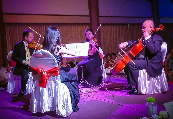 The Pro Musica Quartet perform at Diana Garden Resort, October 29.