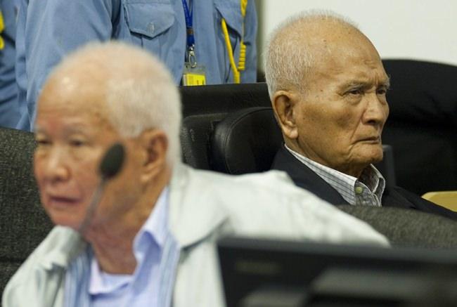 Last of Khmer Rouge leaders get 2nd life sentences for genocide