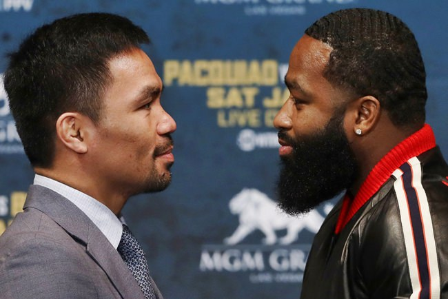 Manny Pacquiao Adrien Broner fight January 19 formally announced