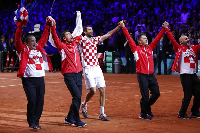 Croatia win Davis Cup final as defeated France bemoan future of competition