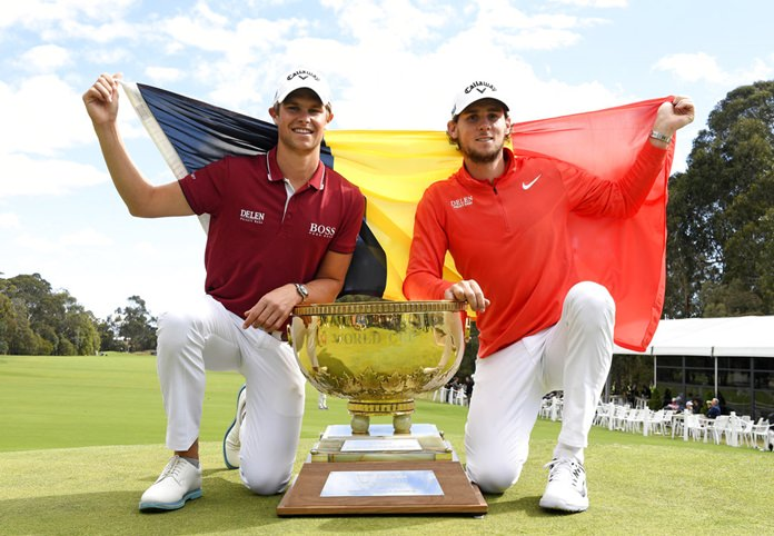 'Dream comes true' as Belgium win golf World Cup