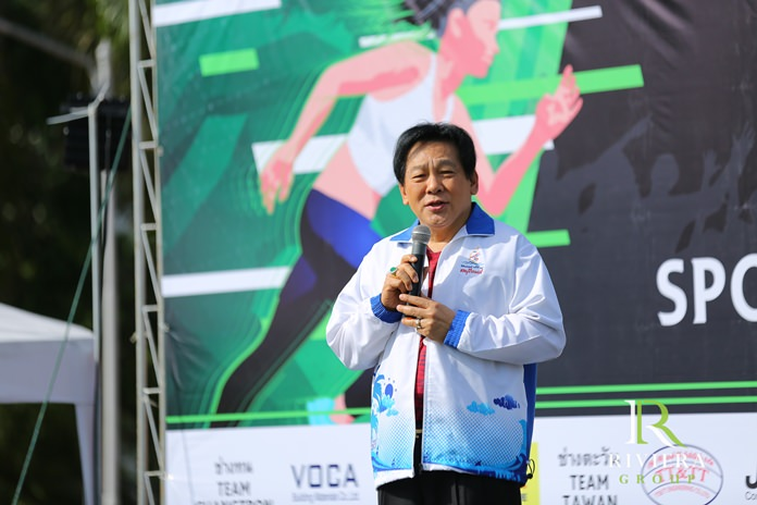 Former Chonburi MP Chanyuth Hengtrakul speaks of his commitment to the wellbeing of the community.