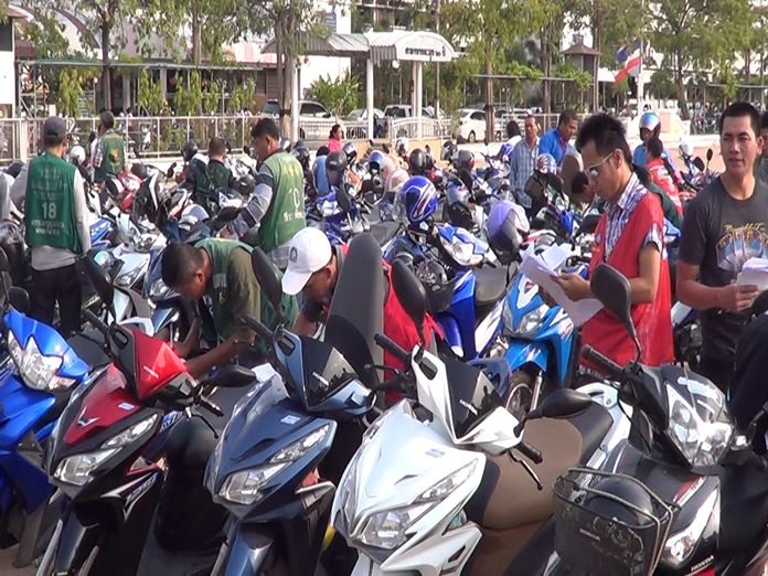 Pattaya will add to its large stable of motorcycle taxis when registration opens again Jan. 1.