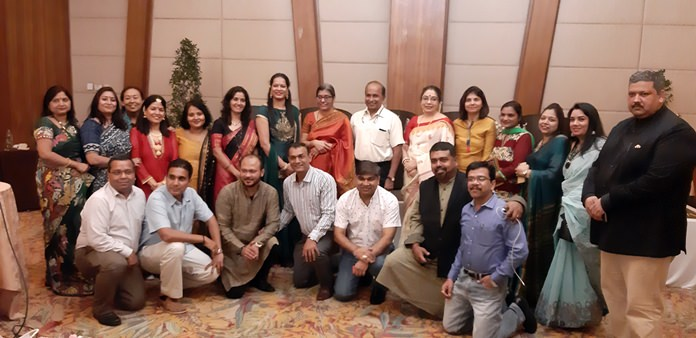 Indian residents of Pattaya and the eastern seaboard join in group photos with the ambassador and her entourage.