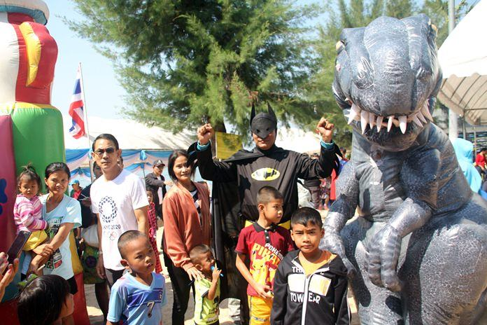 Pattaya began planning for Children's Day festivities Jan. 12 in front of Pattaya City Hall.