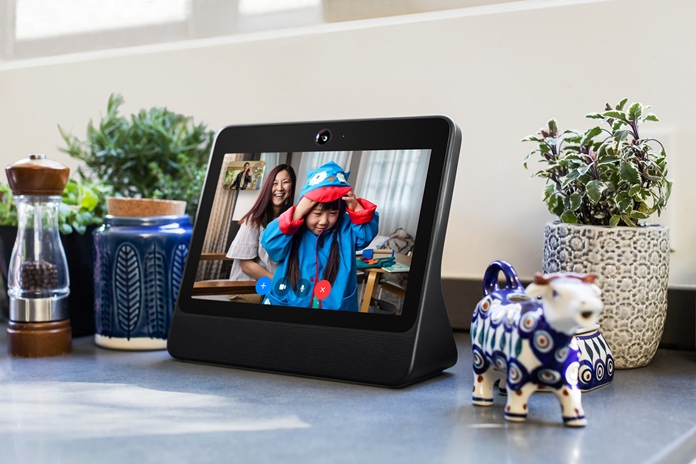 This file image provided by Facebook shows the company's product called Portal. (Facebook via AP)