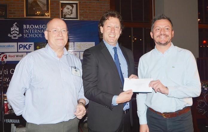 Graham Macdonald, Todd Cikraji, Director of Future Paths, and Richard Jackson, GM of RLC Recruitment Co. Ltd.