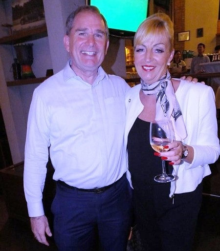 In with the new and out with the old, Rob Rijnders, Senior Vice President & Area General Manager introduces Deborah Haines as the newly appointed Area General Manager, Amari Pattaya.