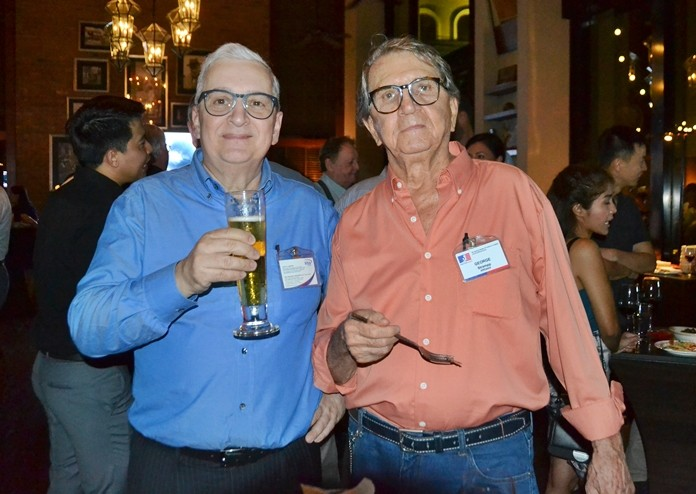 David R. Nardone, Vice Chairman of the WHA Group Board of Directors with George Strampp, gurus of the Eastern Seaboard business community.