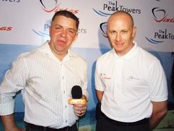 Paul Strachan interviews Jason Yong for Pattaya Mail on TV.