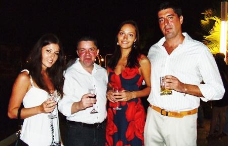 (L to R) Irina, Paul, Maria, Frank.