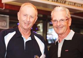 Colin Davis and Claude Harder.
