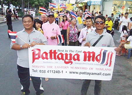 Pattaya Mail proudly takes part in the parade.