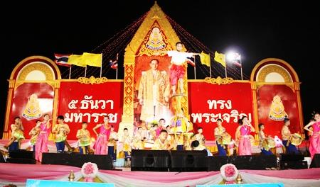 Students from Pattaya School #8 perform a daring show at Bali Hai.