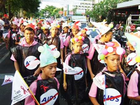 Since most new AIDS cases affect youths aged 20-39, it is important that schools become in involved in spreading the message before it's too late.