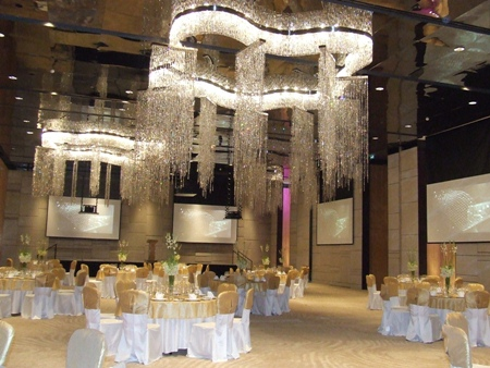 It doesn't get any grander than the Hilton's Grand Ballroom.