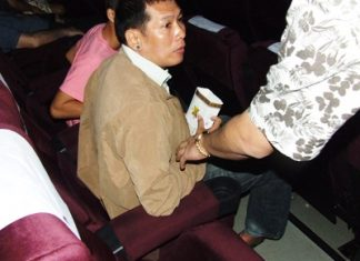 "Traiphop ""Joe"" Bunphasong was arrested whilst watching a movie in Central Pattaya."