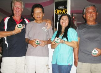Divisional winners: Tim Lazecki, Shuichi Kodaka, Noi Emerson, and Yasuo Suzuki.