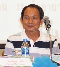 Master Sanya Mangkorn from City Life F.M. 93.75.