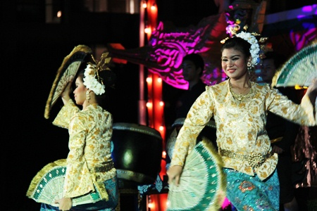 The traditional show brings down the house at the Amari Orchid Resort and Tower Pattaya.