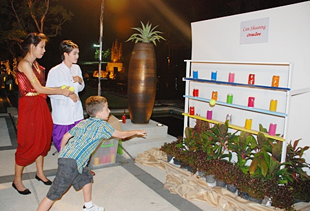 Fun and games for all ages at the Amari Orchid Resort and Tower.