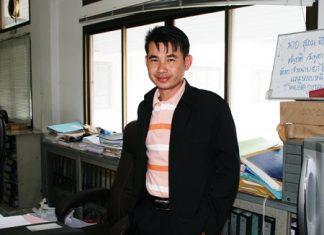 "Pongtasit Pijanan, the ""good-looking crime suppressor deputy district chief."""