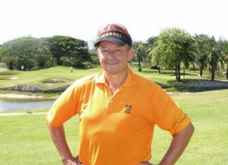 Lewiinski's new golf captain, Pierre Bietry.