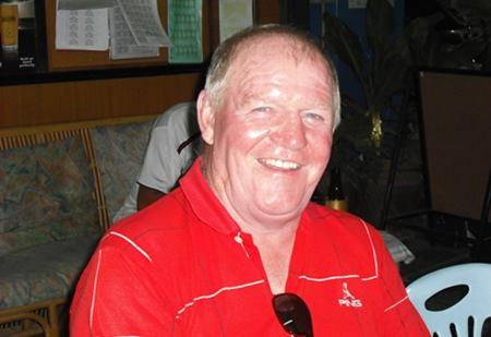 Rab McDonald - winner at Crystal Bay on Friday.