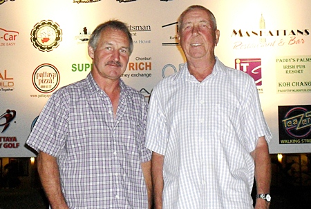 Friday's top two, Tony Duthie and Ron Hall.