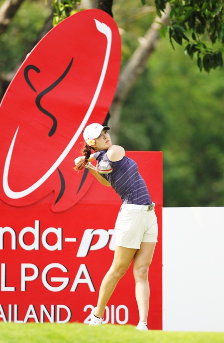 Golfing superstar Michelle Wie is expected to join a star studded cast of players for the Honda LPGA Thailand 2011 at Siam Country Club Old Course next month. (Photo/Honda LPGA)