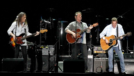 The Eagles perform at the Impact Arena in Bangkok on Sunday, Feb. 20.