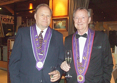 (L to R) Jan Chris von Koss and Dieter H. Precourt.
