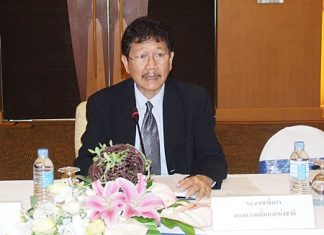 Anusit Khunakorn, deputy secretary-general, chaired the Jan. 21 meeting at the A-One Royal Cruise Hotel.