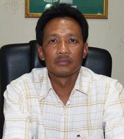 Tawat Puekboon-nark, president of the Pattaya Transport Cooperative.