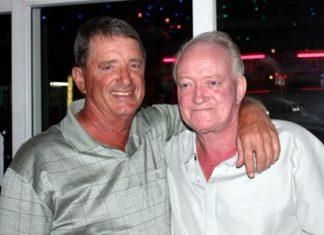 The Birthday Boys: Don Lehmer, left, and George Jackson.