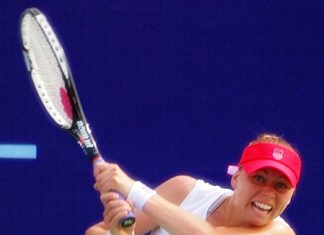 World No 2 Vera Zvonareva has arrived in Pattaya determined to defend her crown.