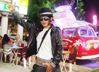 Chanapol Khongsri (or Om), the Pattaya Michael Jackson.