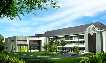 Dusit Thani College Pattaya City, the newest hospitality higher education institution in Pattaya.