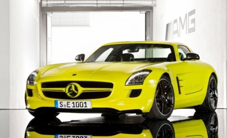 Electric SLS Mercedes